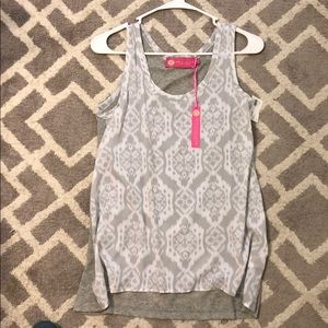 New with tags printed tank